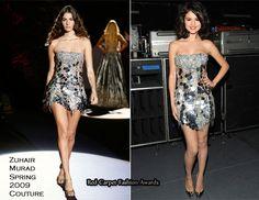Selena Gomez In Zuhair Murad Couture – Justin Timberlake