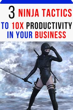 3 Ninja Tactics To Your Productivity When Building Your Side Business Starting A Business, Business Planning, Business Ideas, Women's Diving, Lack Of Focus, Hudson River, Daily Activities, Lead Generation, Student Learning
