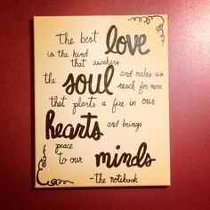 The notebook quote on Etsy, $20.00