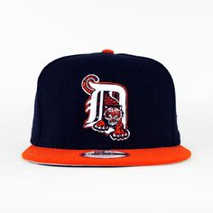 Detroit Tigers Navy   Orange (Gray Under) SNAPBACK New Era Snapback de4d721c6b3