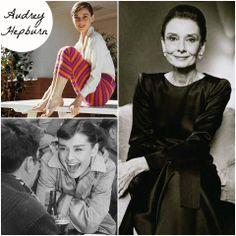 """Nascida na Bélgica em 1929, Audrey Hepburn se tornou um ícone na moda internacional do século XX. Amiga de Givenchy, vestida por ele em vários filmes com figurinos de Edith Head serviu de inspiração para estilistas como símbolo de elegância.  Audrey é uma peça importante no vestuário feminino atual por ter promovido o pretinho básico, sapatilhas rasas, calças corsário e óculos de sol extravagantes.  A """"Bonequinha de Luxo"""" está super presente na nossa coleção de inverno."""