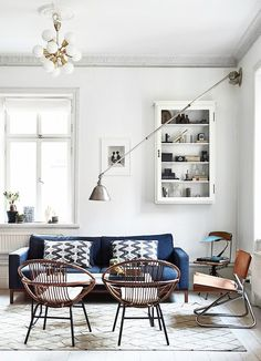 If there's one design aspect every Swedish interior does well, it's layering. The stripped-back appeal can fall into toneless territory, but with a little structure and careful staggering of each...