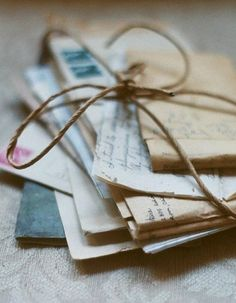 Do you keep your old love letters?