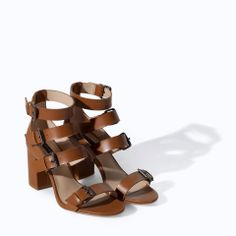 Zara Wide 17 Right for Now Seeing Zara Zara High Straps Sandal Shoes Spring Shoes Later and Pin Worth Buying With Heel 4fqzC6z