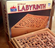 Labyrinth ... a classic!! Make sure the marbles stay out of little ones' reach though. Choking hazard!