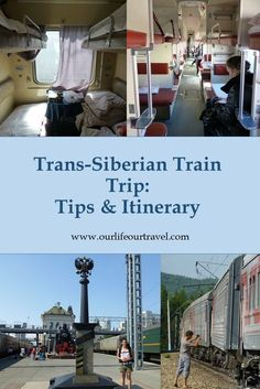 Trans-Siberian Train Trip: Moscow Vladivostok.