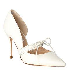 LK BENNETT L.K.Bennett x Bionda Castana January leather d'orsay court shoes