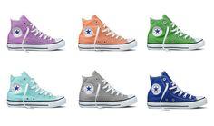 zapatillas converse de colores para mujer - Buscar con Google