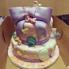 Baby Shower Birthday Cake by MyCakes