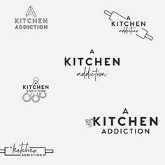 A few preliminary logo ideas for A Kitchen Addiction food blog. We're on to round 2 of refinements now! Looking forward to seeing where…
