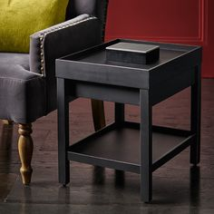 Side tables are small versatile pieces, useful for punctuating a room and providing valuable surfaces. They are small enough to be used in awkward spaces and perfect placed either side of a sofa. Black Side Table, Wooden Side Table, Side Tables, Brown Paint, Solid Oak, Table Furniture, Perfect Place, Sofa, Bedroom