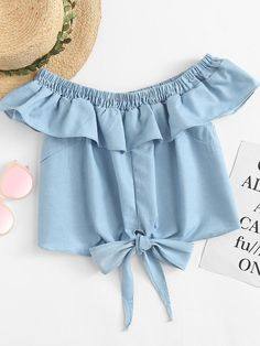 Girls Fashion Clothes, Teen Fashion Outfits, Look Fashion, Girl Fashion, Latest Outfits, Trendy Outfits, Jugend Mode Outfits, Cute Crop Tops, Crop Top Outfits
