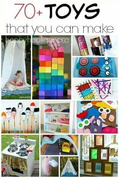 70 Homemade Toys