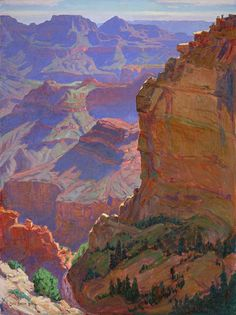 Grand Canyon ~ Carl Oscar Borg