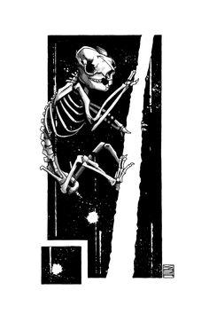 "Limited edition (10) token of Skeenee´s ""Koala Skeleton"" available on  www.makersplace.com. #cryptoArt #skeenee #cryptoartist #skull #skullart Sumi Ink, Anatomy Drawing, Ink Painting, Skull Art, Blockchain, Skeleton, Renaissance, Digital Art"