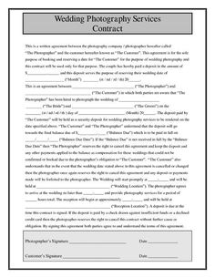 discover what you should include in your professional wedding planner contract and download a sample letter. Resume Example. Resume CV Cover Letter