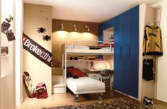 Simple Boys Room Decorating