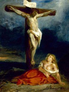 Marie-Madeleine au pied de la Croix (1829)