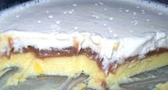 Cascata tricolor, uma sobremesa deliciosa!