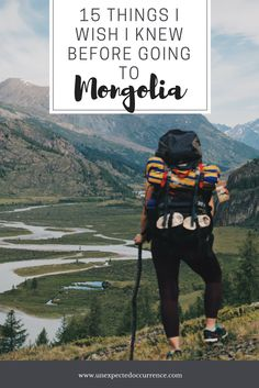 What I wish I knew before going to Mongolia l Mongolia trekking & hiking