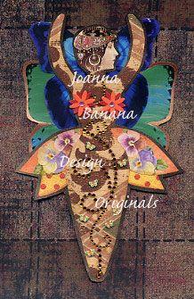 Goddess Paper Art Doll by Joanna Banana Design Originals