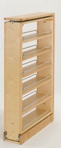 Hardware Distributors RS432.TF39.6C 38-.50in.H Filler Pull-out Organizer with Wood Adjustable Shelves:Amazon:Home  Kitchen