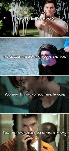 Kieran Wilcox-I didn't even care he betrayed them bc he was psychopath❤️ Scream Movie Series, Series Movies, Tv Series, Mtv Tv Shows, Netflix Tv Shows, Netflix Series, It Movie Cast, Film Movie, Scary Movies
