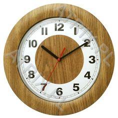 Zegar ścienny ramka jesion ATRIX.PL