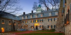 Moravian Bell House in Bethlehem, PA...
