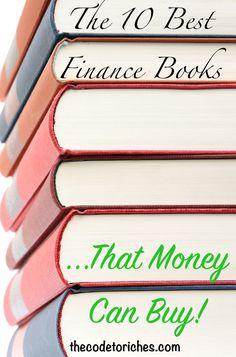 The 10 best finance books money can buy - Savings Planner, Budget Planner, Finance Books, Finance Tips, Money Tips, Money Saving Tips, Las Vegas, Money Book, Financial Literacy