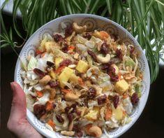 We worden vaak geïnspireerd door recepten van onze lezers. Deze keer hebben we een recept ontvangen van Birgitte. Zij is dol op koken en beleeft veel plezier aan het creatief bezig zijn in de keuken. Deze frisse quinoasalade met mango, cashewnoten en cranberry's is haar favoriet!