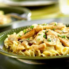 Easy Chicken Stroganoff Recipe