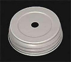 Zinc Finish Mason Jar Lid | Antique Lamp Supply