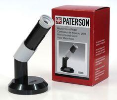Paterson mirino Microfocus - focometro    #pellicola #fotografia #darkroom mailto:info@fotom... www.fotomatica.it