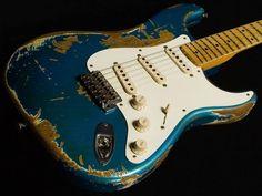Vintage Blue Fender Strat
