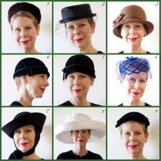 How to pick the perfect hat for your face shape-- Because every savvy hat-lover should see this:)