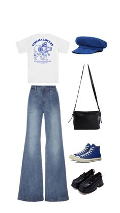 Swaggy Outfits, Cute Casual Outfits, Pretty Outfits, Aesthetic Fashion, Aesthetic Clothes, Teen Fashion Outfits, Mode Inspiration, Polyvore Outfits, Ootd