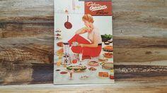 Deluxe Osterizer Recipes, 1955, vintage cookbook, mid century cookbook