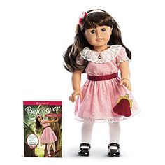 American Girl® Dolls: Samantha™ Doll, Book & Accessories ~ This is my favorite American Girl doll.  They retired her, but she is back again, Yay.