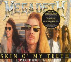 """RECENSIONE: Megadeth ((Skin O' My Teeth)) Conclusa la campagna promozionale di """"Rust in Peace"""", i Megadeth si misero subito all'opera per preparare il terreno in previsione dell album successivo, dando alle stampe il singolo di """"Skin O' My Teeth"""" ed iniziando così una nuova fase della loro carriera. (Michele Met Alluigi)"""