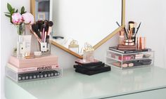 Great Ideas for Make-Up Storage - Hey Pretty Beauty Blog