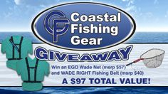 You should enter Coastal Fishing Gear Giveaway!. There are great prizes and I think one of us could win!