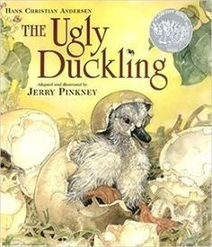 The ugly duckling / Hans Christian Andersen ; adapted and illustrated by Jerry Pinkney. Caldecott Honor Book.