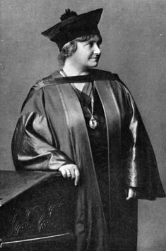 Italian physician, engineer and educator Dr Maria Montessori. Graduated in Physics and Mathematics in 1890. She developed the Montessori educational method now in use across the globe