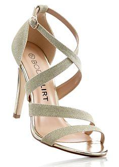 Sandalette gold - BODYFLIRT jetzt im Online Shop von bonprix.de ab € 29,99 bestellen. Effektvoll und sexy, mit Schnalle.