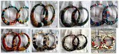 Large+Circle+African+Print+Hoop+Earrings+by+InIVibez+on+Etsy,+$16.00