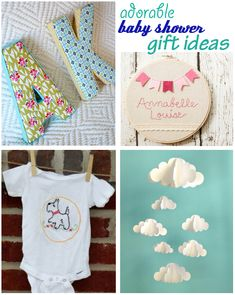 Adorable Baby Shower Gift Ideas
