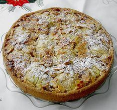 Apfelkuchen mit Mandeldecke (Rezept mit Bild) von BioMarkus | Chefkoch.de