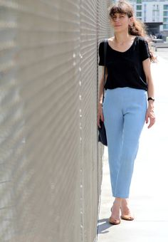 Ultimate every day Sew Over It, Sewing Patterns, Capri Pants, Trousers, Fancy, Street Style, Selfish, Street Fashion, Project Ideas