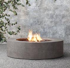 "Mendocino Propane Round Fire Table 43"" $2075 on sale"